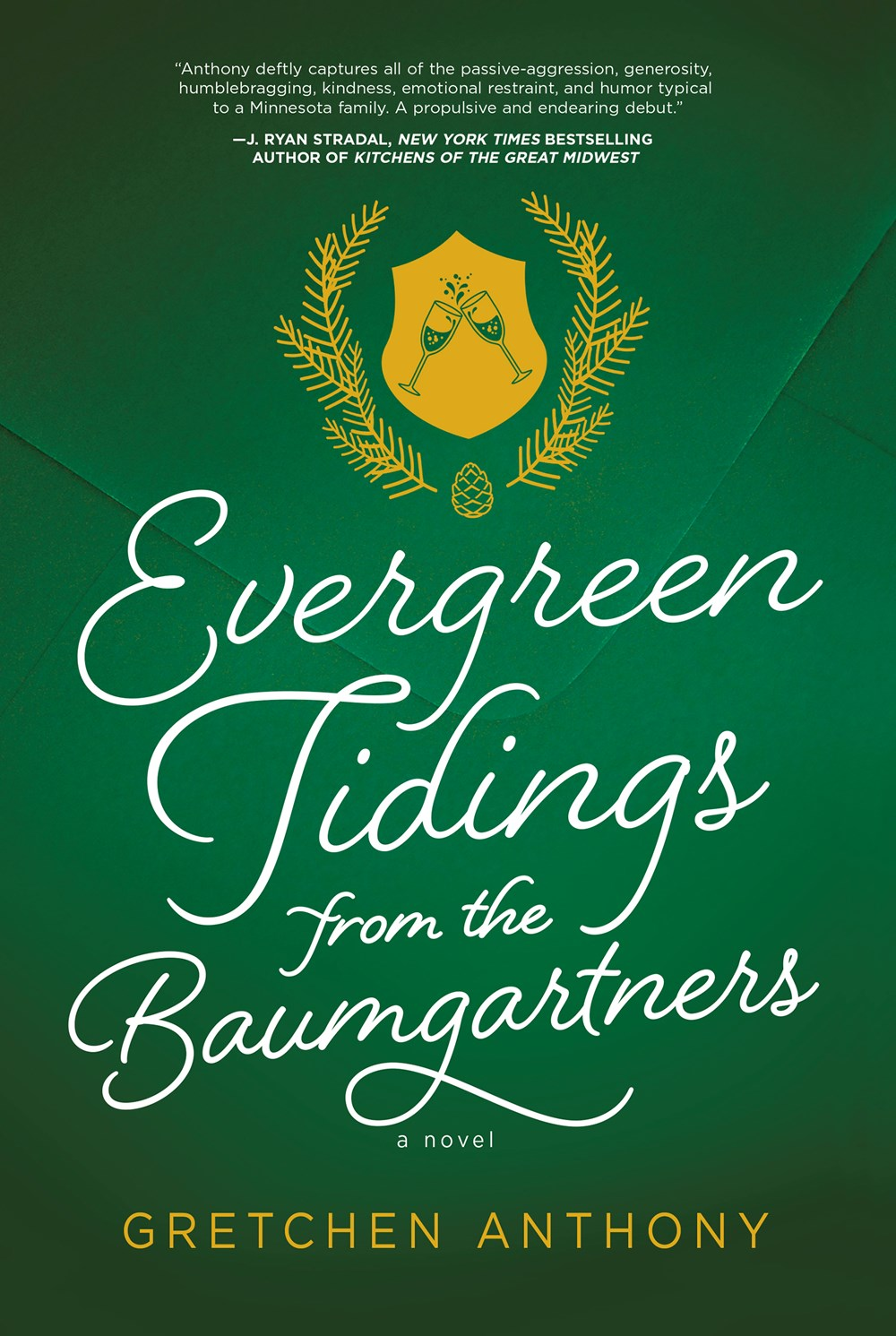 Evergreen Tidings from the Baumgartners cover