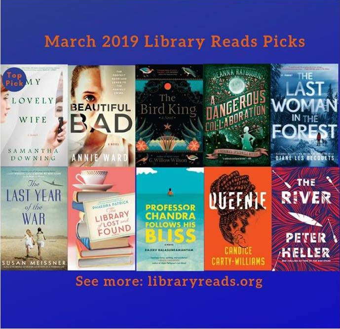 March LibraryReads