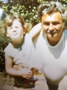 Meredith May and grandfather picture
